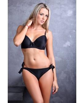 Bikiniset Bygel Big Cup Svart