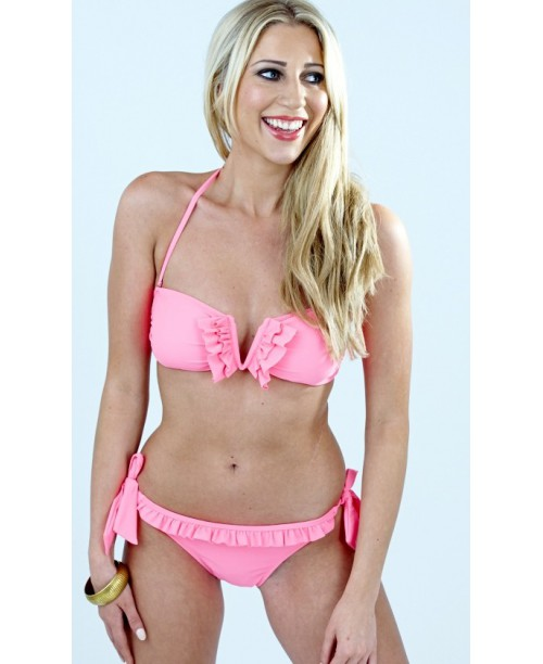 V-bandeau Bikiniset South Beach Korall